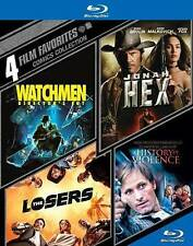 4 Film Favorites: Comics Collection (Blu-ray), Good DVD, Various, Various