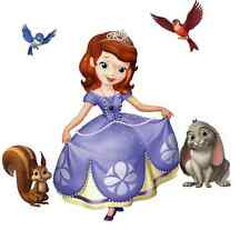 Princess Sofia the First - Wall Sticker Decal Kids Room Decor - 23 x 37 cm