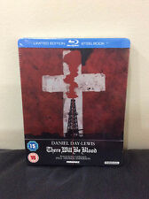 There Will Be Blood Blu-ray SteelBook | UK exclusive | Region B | New Sealed