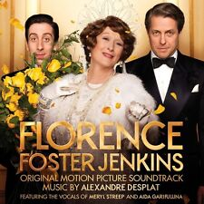 FLORENCE FOSTER JENKINS - SOUNDTRACK {music by Alexandre Desplat} 'New & Sealed'