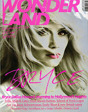 WONDERLAND #5 BRYCE DALLAS HOWARD Rupert Friend EMILY BLUNT Behati Prinsloo MINT
