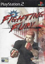 FIGHTING FURY for Playstation 2 PS2 - with box & manual