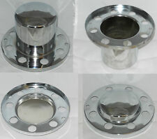 SET OF 4 DUALLY CHEVY GM BASE PLATE TYPE 8 LUG WHEEL CENTER CAP SEE DESCRIPTION