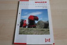 128373) Lely Welger Rundballenpresse RP 320 Prospekt 200?