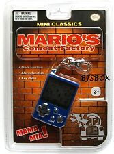Nintendo Mini Classics MARIO'S CEMENT FACTORY Video Game Clock Key Chain New