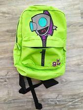 Invader Zim Gir Backpack With Green Dog Disguise Hood Adjustable Straps Vintage