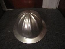 Vintage Aluminum Safety Hard Hat Helmet Superlite Co