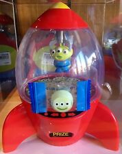New Tokyo Disney Toy story Alien Little Green men Candy container space crane