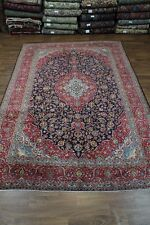 Extra Fine Masterpiece Large Kashan Persian Wool Oriental Area Rug Carpet 10X14