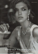 Publicité 2011  //  DAVID YURMAN  collection starburst