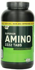 Optimum Nutrition Superior Amino 2222 Tablets, 320 Count, New, Free Shipping