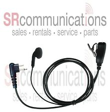 Earbud Headset with Mic for Motorola CLS1410 CLS1110 VL50 CP110 BPR40 CP125