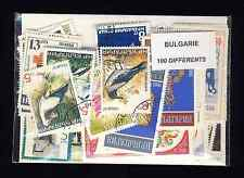 Bulgarie - Bulgaria 100 timbres différents