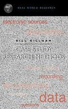 Continuum Research Methods: Case Study Research Methods by Bill Gillham (2000, U