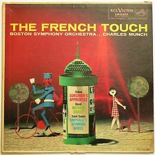 THE FRENCH TOUCH - CHARLES MUNCH / BOSTON SYMPHONY - RCA Victor LM 2292 VG