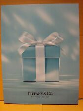 TIFFANY & CO JEWELRY 2016 HOLIDAY AUTHENTIC TURQUOISE BLUE CATALOG IN ENGLISH
