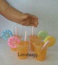 "One Orange Juice Drink Doll Food  for 18"" American Girl Doll or bjd Cool Stuff!"