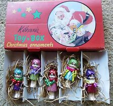 KATHERINE'S TOY BOX CHRISTMAS ORNAMENTS-5 BABY DOLLS NEW IN ORIGINAL BOX 3 of 3