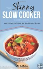 Skinny Slow Cooker Recipes Healthy Diet Cook Book Eating Weight Loss Nutrition