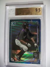 CORRELLE PRIME 2015 Bowman Chrome Blue Wave Refractor #210 BGS GEM MINT 9.5 RC