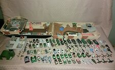 Galoob Micro Machines Mixed Army Military Lot 88 Vehicles + Tank Playset + More