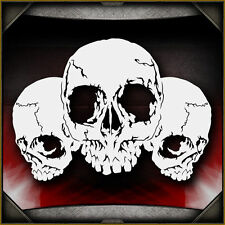 Skull Background 27 -  Airbrush Stencil Template Airsick