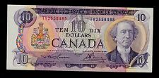CANADA  10 DOLLARS 1971 TV  PICK # 88c  XF+ BANKNOTE.