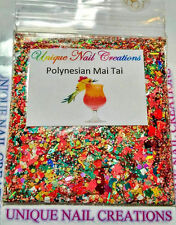 Limited Edition Glitter Mix~Polynesian Mai Tai* Comes With Alloy~ Nail Art