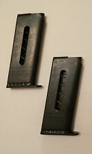 Raven P25 MP25 Factory New .25 ACP 6 Round Magazine Blued Quantity of 2