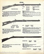 1985 CVA Frontier, Hawken & Kentucky RIFLE AD