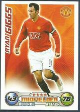 TOPPS MATCH ATTAX 2008-09-MANCHESTER UNITED & WALES-RYAN GIGGS