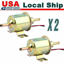 2X 【NEW】Superior Quality Gas Diesel Inline Low Pressure electric fuel pump 12V T