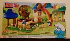 MEGA BLOKS Smurfs Carnival Playset and Smurfette's House Playset NEW