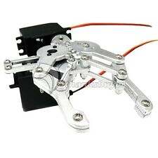 AS-6DOF Alluminum Alloy Mechanical Claw Holder Robotic Arm Kits & 2 PCS MG996R