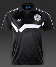 Adidas Originals Germany Home Away Jersey Polo Trefoil Mens Shirt TOP Slim S $60