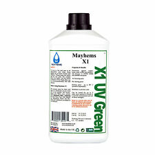 Mayhems X1 Pre Mixed Water Cooling Liquid Coolant UV Green Fluid 1 Litre