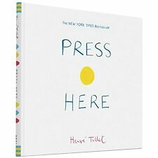 Press Here Herve Tullet Chronicle Books HB 9780811879545