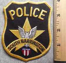 SOUTH BARRINGTON ILLINOIS POLICE PATCH (HIGHWAY PATROL, SHERIFF, EMS)