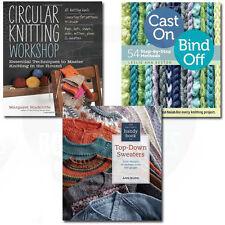 Circular Knitting Workshop 3 Book Collection Set Arts & Crafts Various