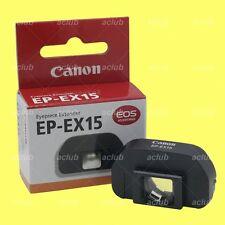 Genuine Canon EP-EX15 Eyepiece Extender EOS 1D 1Ds 5D Mark II 6D D60 D30 70D 60D