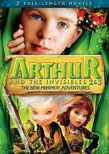 ARTHUR AND THE INVISIBLES 2 AND 3 (DVD, 2012)