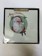 Hallmark Christmas Traditional Santa Signature Edition Card Box 18 Card 11430583