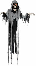 HALLOWEEN HANGING ANIMATED MOANING  REAPER PROP DECORATION HAUNTED HOUSE 6 FT