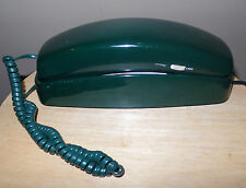 Vintage Green BELL TRIMLINE Heavy Weight Push Button TELEPHONE