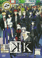 K Project The Anime Complete Series 13 Episodes DVD Box Set English Subs