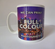 Personalised Mug Custom Printed Gift Present White Tea Coffee Your Image Photo