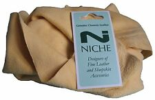 Genuine Natural Chamois Leather 2.5 sq foot