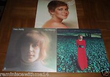 THREE (3) HELEN REDDY LPs -I Am Woman- I Don't Know How To Love Him -Play Me Out