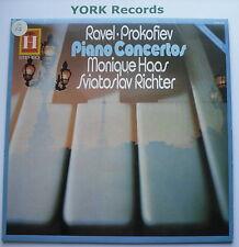 2548 109 - RAVEL / PROKOFIEV Piano Concertos HAAS / RICHTER - Ex Con LP Record