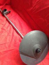 Free P&P. Roland CY-6 Cymbal w Arm. for Electronic Drum Kit. Cymbal Cracked 2of2